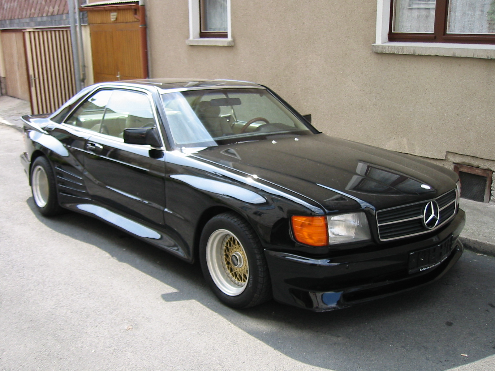 The unofficial w126 coupe sec picture thread page 44 for Mercedes benz forum